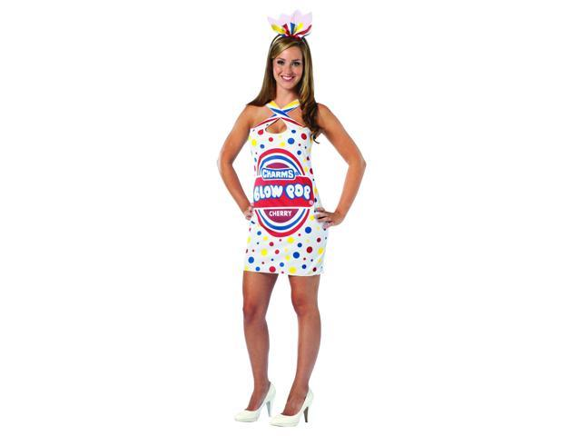 Charms Blow Pop Sexy Tear Drop Costume Dress Adult One Size Fits Most