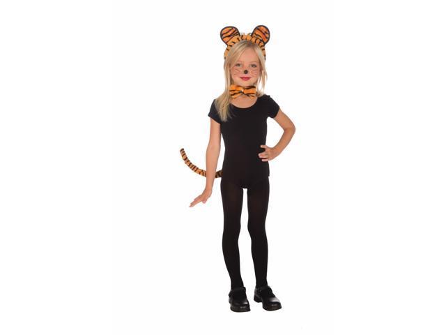 Plush Tiger Costume Kit Child One Size