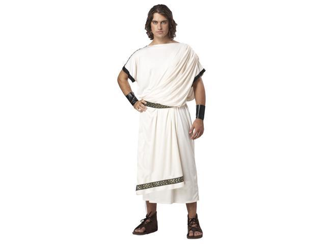 Men'S Deluxe Classic Toga Costume One Size Fits Most Standard