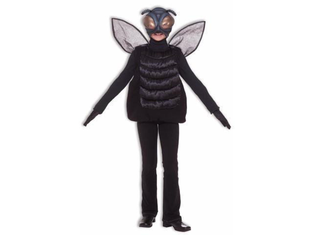 Black Bug Fly Costume Child Standard