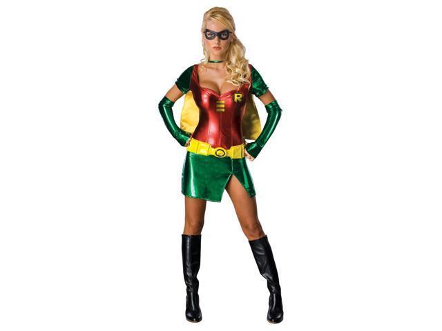 Batman Sexy Robin Adult Costume Small