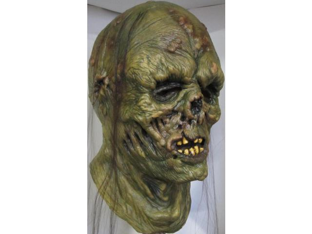 Decayed Zombie Full Head Costume Mask Adult One Size