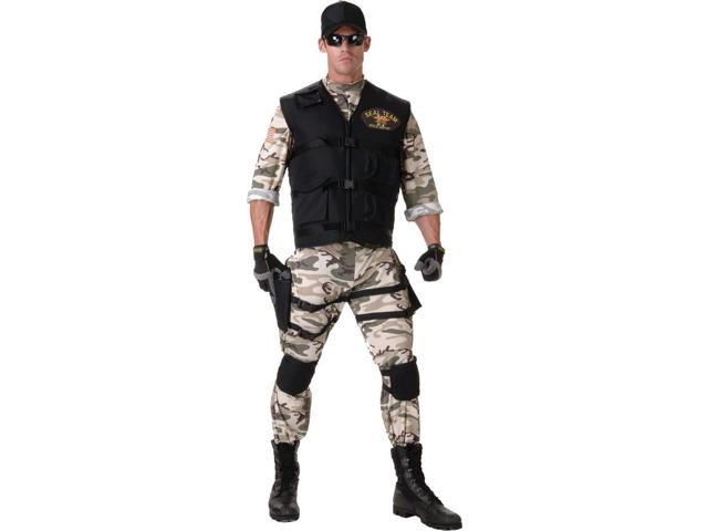 Seal Team Military Costume Adult XX-Large