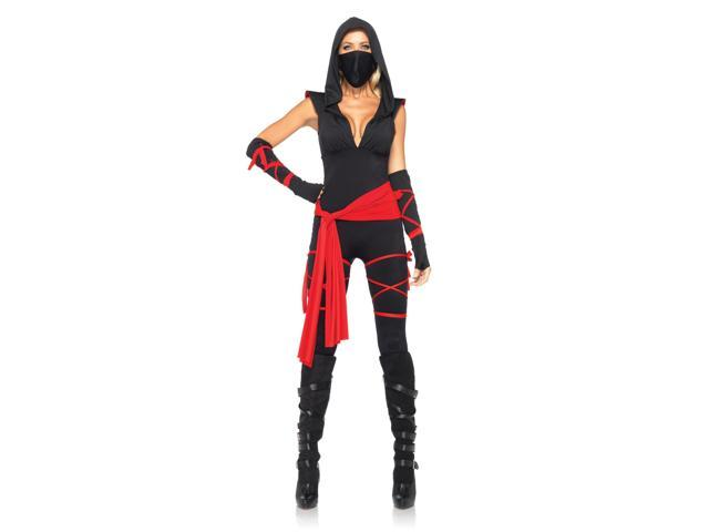 Sexy Deadly Ninja Costume Adult Large