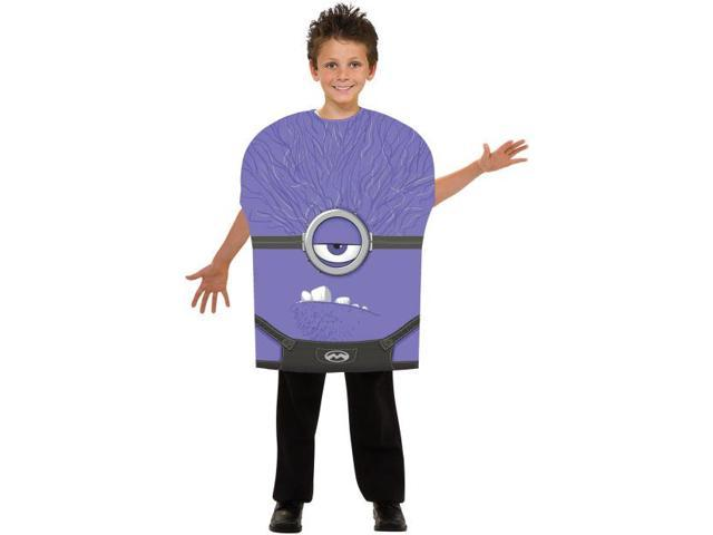 Despicable Me 2 Evil Minion Foam Costume Child Medium