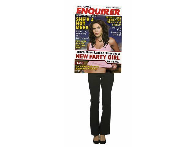 National Enquirer Magazine Cover Costume Adult Female
