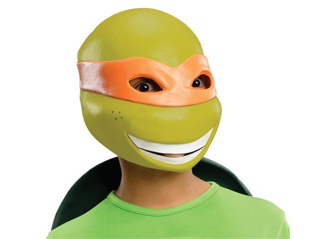 T.M.N.T. Michelangelo Vinyl 3/4 Costume Mask Child One Size