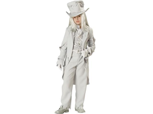 Ghostly Gent Child Costume 10