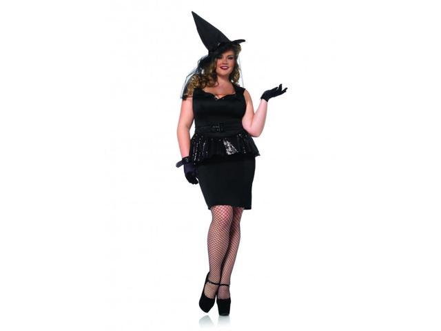 Vintage Witch Plus-Size Adult Costume 1X/2X