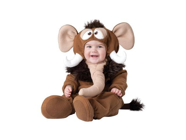 Wee Wooly Mammoth Baby Costume Large