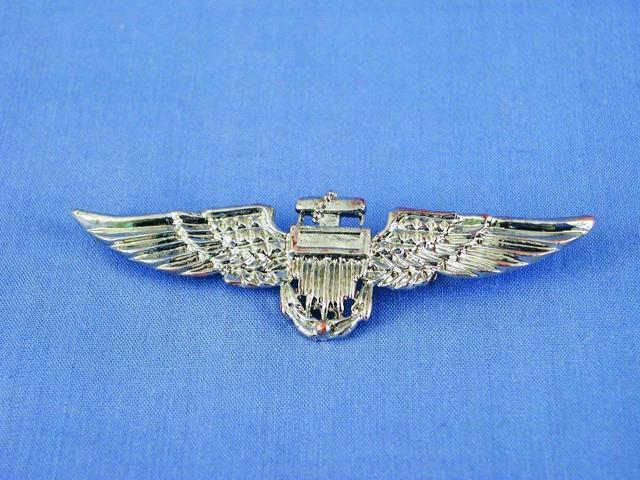 Aviator Pilot Costume Accessory Pin - Silver One Size