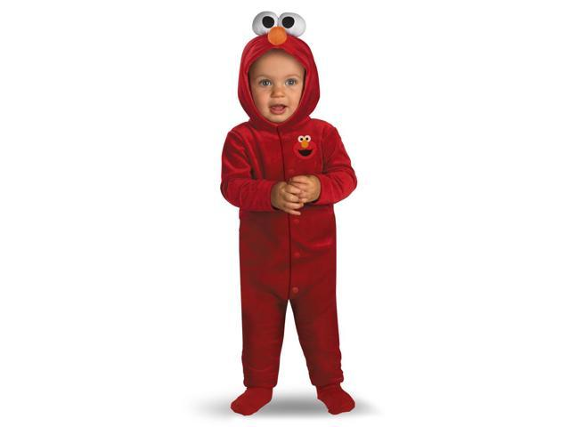 Sesame Street Giggling Elmo Jumpsuit Child Infant Costume 12-18 Months