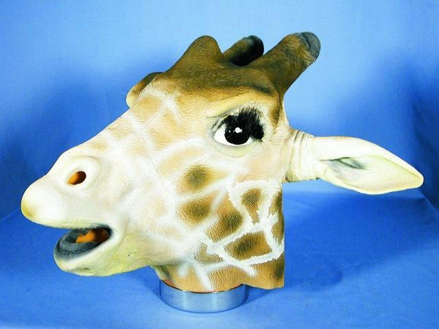 Giraffe Adult Costume Mask One Size