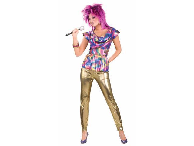 80's Punk Rock Video Star Female Adult Costume Standard