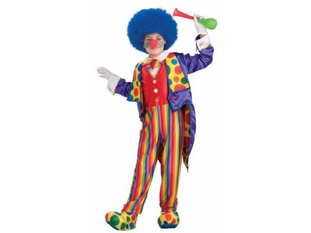 Designer Classy Circus Clown Boy Costume Child Small