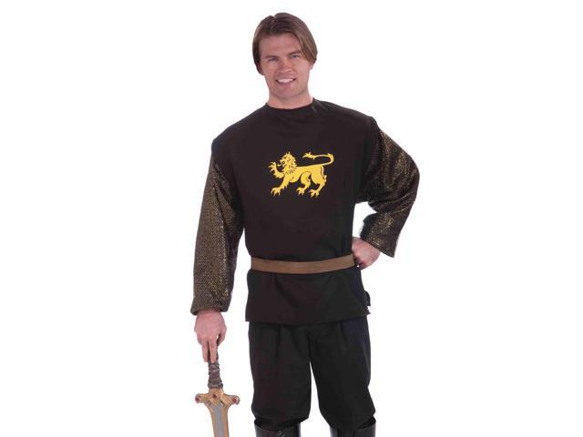 Medieval Chainmail Adult Costume Shirt One Size