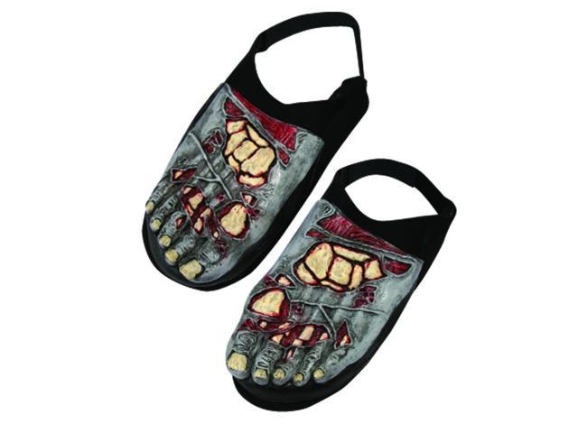 Zombie Bone Foot Covers Costume Accessory Adult One Size Fits Most