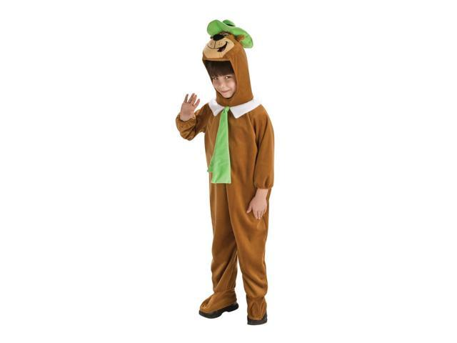 Yogi Bear Delue Costume Child Toddler 2T-4T
