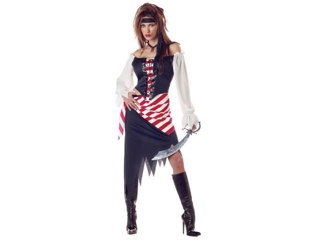 Ruby The Pirate Beauty Costume Adult Large/X-Large