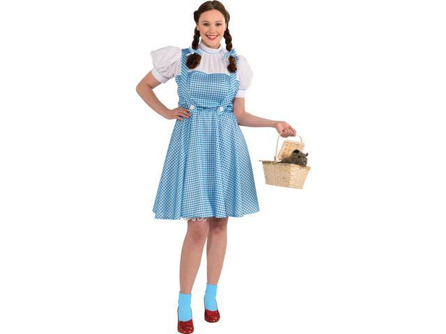 The Wizard Of Oz Dorothy Dress Costume Adult Plus Plus Size 16-22