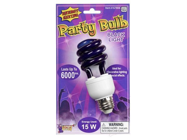 Black Light Energy Bulb Decoration Prop