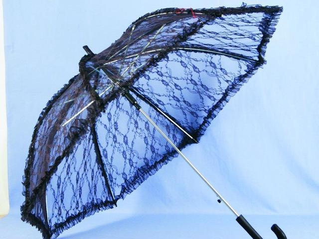 Steampunk Deluxe Lace Costume Umbrella Parasol 37