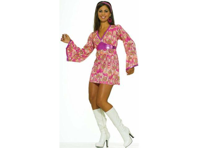 Flower Power Dress Adult Costume X-Small
