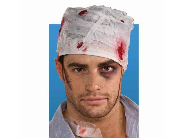 Bloody Head Bandage Costume Accessory One Size