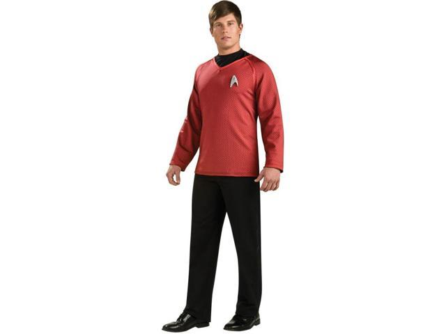 Star Trek Grand Heritage Scotty Costume Shirt & Pin Adult Large