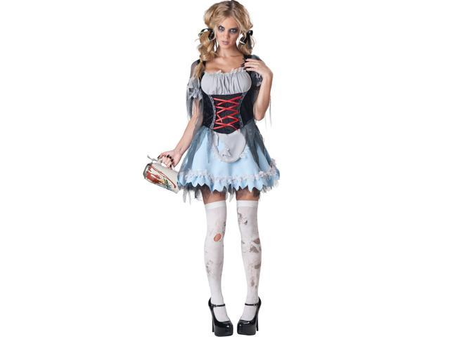 Sexy Zombie Beer Maiden Costume Adult Large