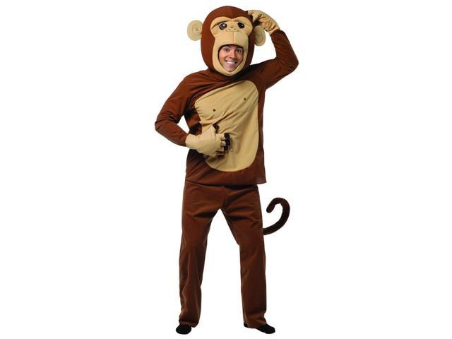 Monkeying Around Costume Adult One Size Fits Most