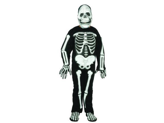 Skeleton Bones Costume Child Large 12-14