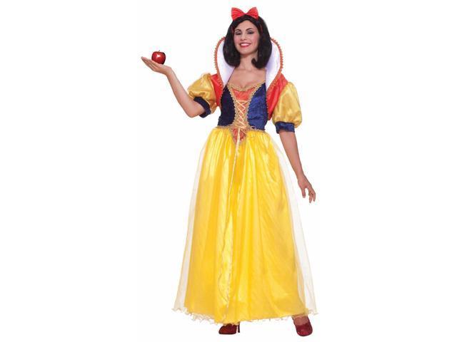 Snow White Princess Dress Costume Adult Standard