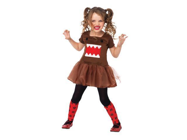 Domo Dress Child Toddler Costume Medium