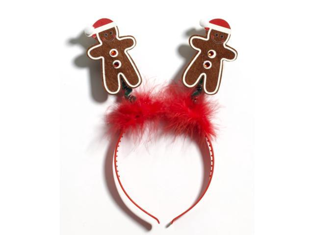 Gingerbread Man Christmas Costume Headband One Size Fits Most