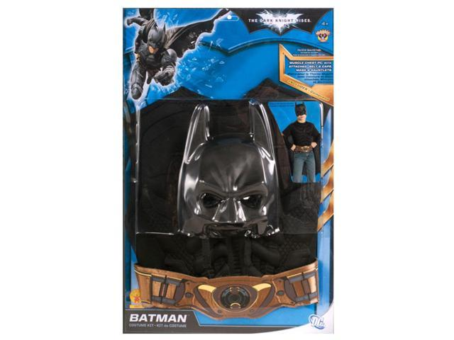 Batman Muscle Chest Costume Kit Child One Size