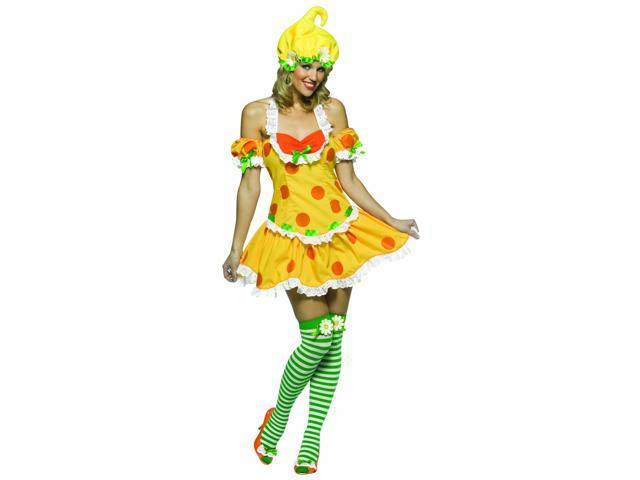 Strawberry Shortcake Lemon Merinque Costume Adult Standard
