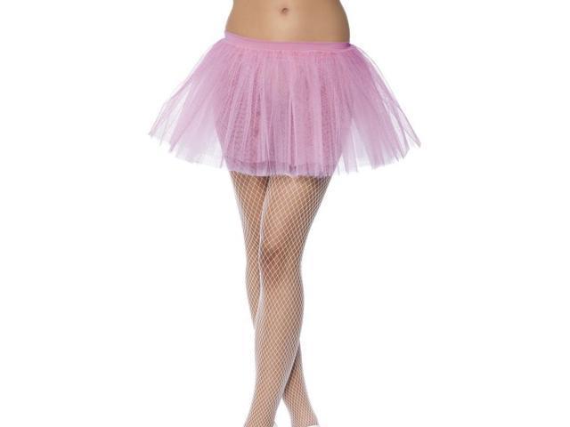 Tutu Pink Adult Costume Underskirt One Size