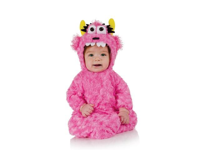 Belly Babies Pink Monster Bunting Costume Infant 0-6 Months