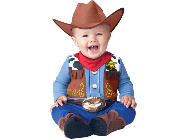 Wee Wrangler Cowboy Costume Child Infant 0-6 Months