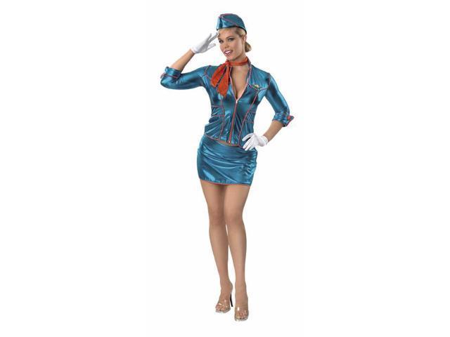 Stewardess Adult Costume Small