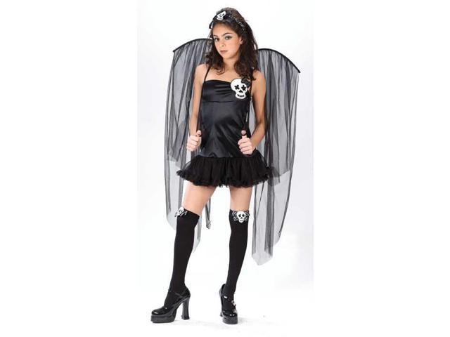 Skull Fairy Costume One Teen Junior Teen