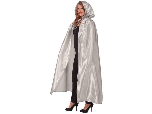 Fancy Silver Masquerade Adult Costume Cape One Size Fits Most