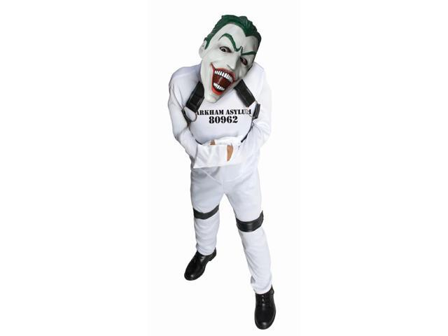 DC Comics The Joker Arkham Asylum Straight Jacket Costume Child Medium