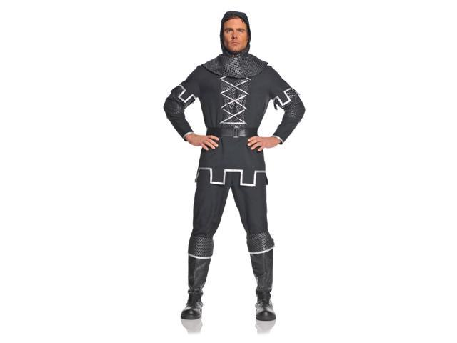 Medieval Black Knight Costume Adult XX-Large