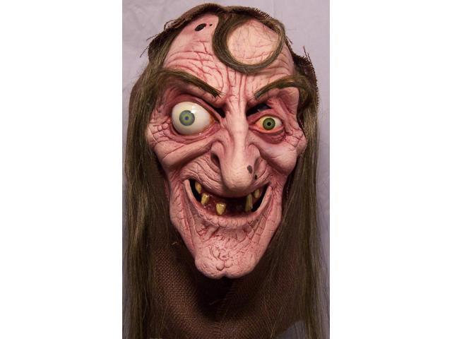 Sea Hag Full Head Costume Mask Adult One Size