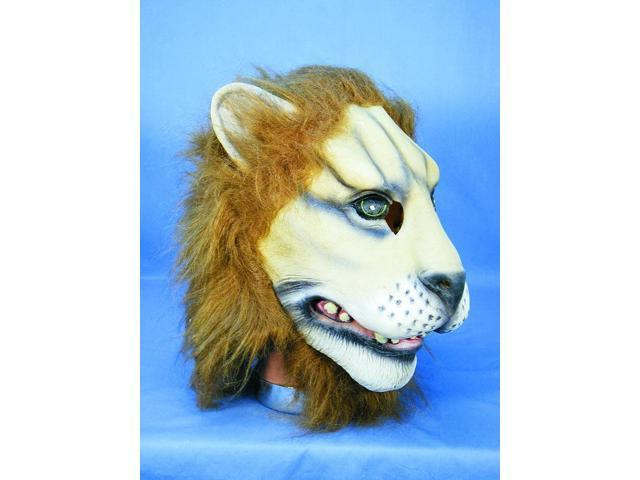 Lion Adult Costume Mask One Size