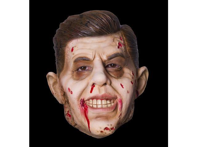 Jack Zombie Costume Mask Adult One Size