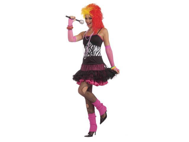80's Material Girl Adult Female Costume One Size Fits Most