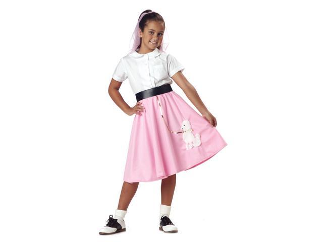 Poodle Skirt Costume Child Tween 10-12